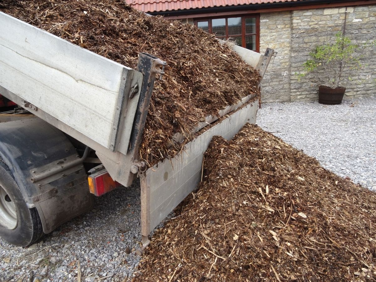 Getting a sawdust delivery