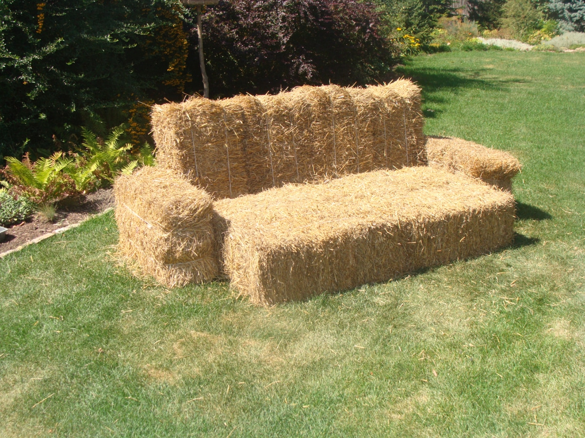 Straw Couch