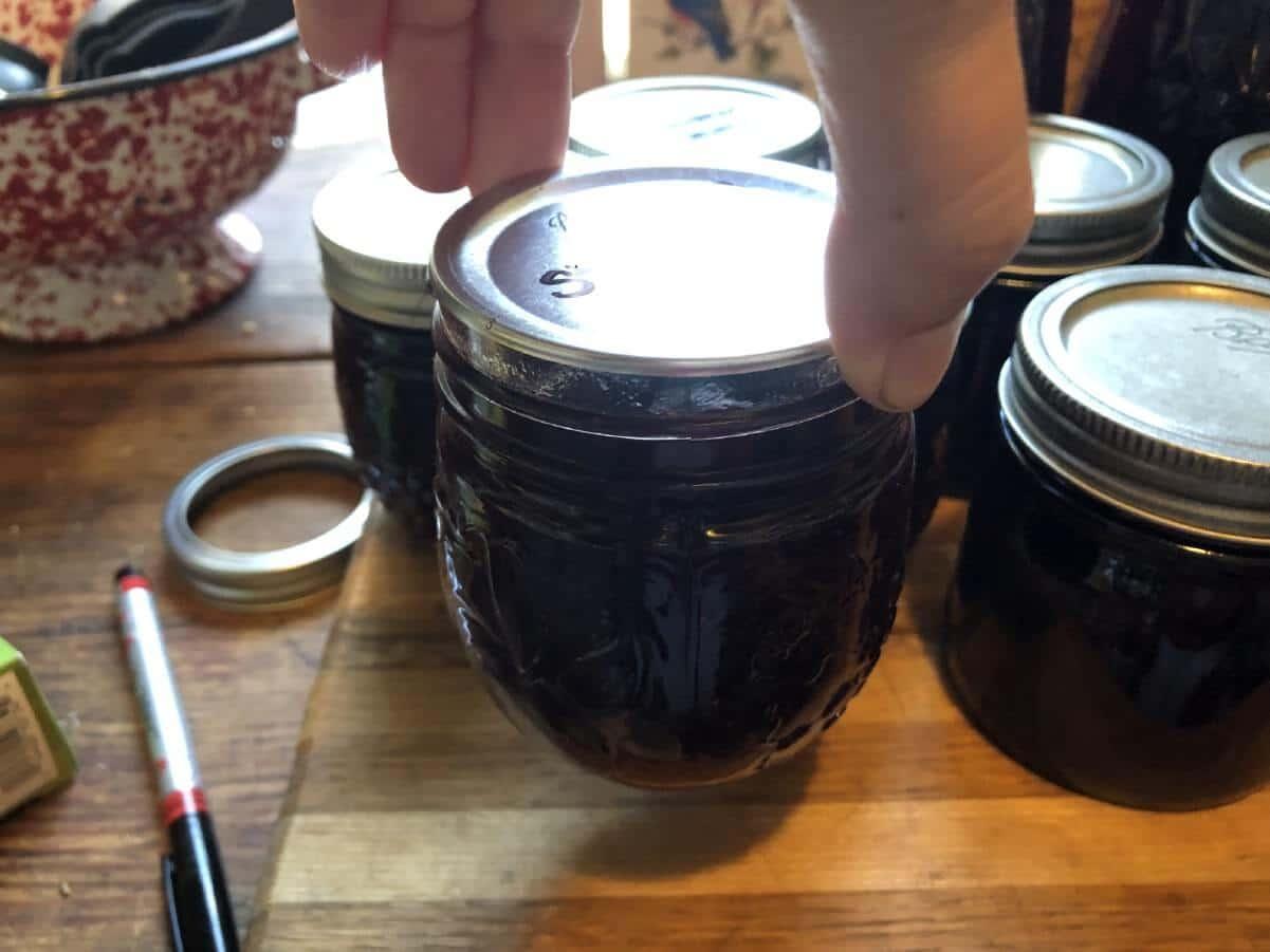 testing canning jar seal
